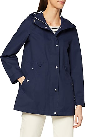 Joules Womens Shoreside Raincoat, Blue (French Navy Frnavy), (Size:14)