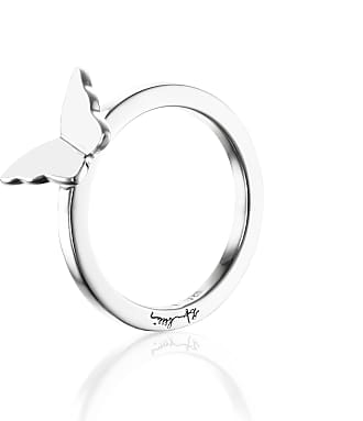 Efva Attling Little Miss Butterfly Ring - Silver Rings