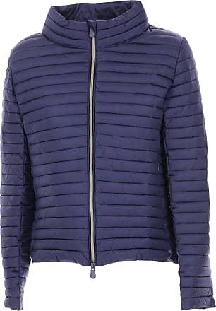 Save The Duck Jacket for Women On Sale, Bluette, Nylon, 2017, 1 (S - 40/42) 4 (XL - 46/48)