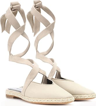 J.W.Anderson Canvas lace-up sandals
