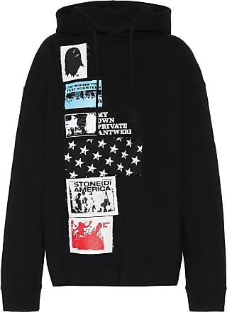 Raf Simons Appliquéd cotton hoodie