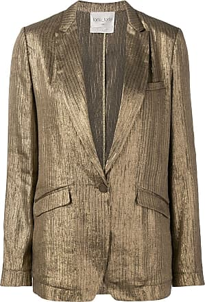 Forte_Forte shimmer fitted blazer - Gold
