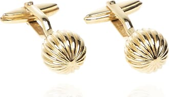 Lanvin Textured Cufflinks Mens Gold