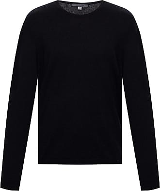 John Varvatos Round Neck Sweater Mens Black