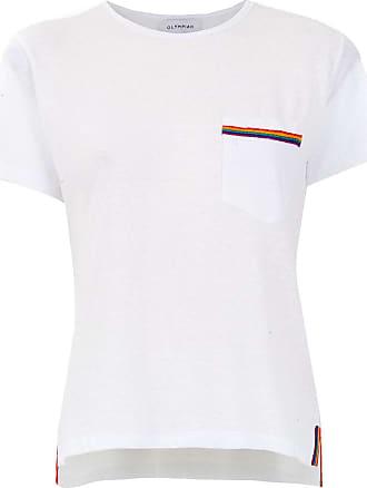 OLYMPIAH T-shirt Camino com bolso - Branco