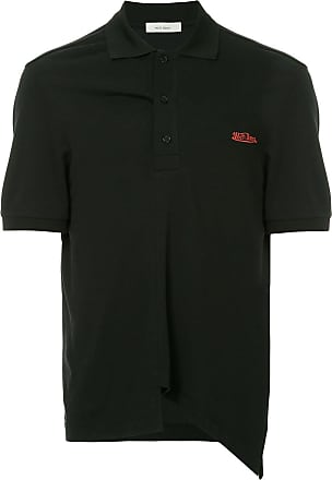 We11done oversized polo shirt - Black