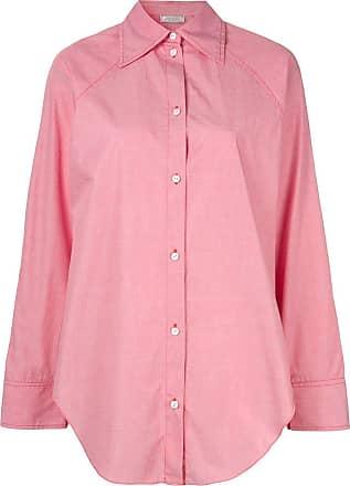 Nina Ricci Camisa lisa com botões - Rosa