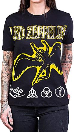 Bandalheira Camiseta Led Zeppelin Anjo Amarelo Apolo 100% Algodão - UNISSEX