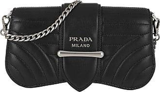 Prada Cross Body Bags - Mini Shoulder Bag Black - black - Cross Body Bags for ladies