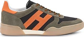 Hogan Sneakers H357, ORANGE,SCHWARZ,GRÜN, 5 - Schuhe