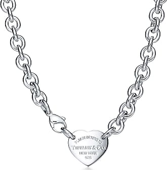 Tiffany & Co. Return to Tiffany Collier mit Herzanhänger in Sterlingsilber