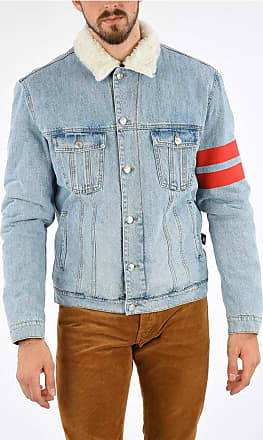 GCDS Embroidered Denim Jacket size L