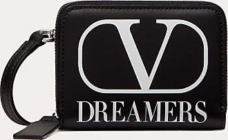 Valentino Garavani Valentino Garavani Uomo Portafoglio Da Collo Vlogo Dreamers Uomo Nero/bianco Bovine Leather 100% OneSize