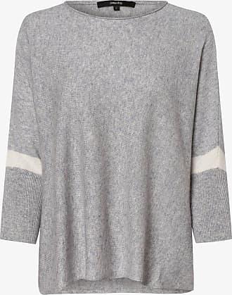 someday Damen Pullover mit Cashmere-Anteil - Tjelva Detail grau
