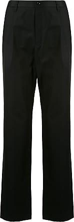Kent & Curwen wide-leg long tailored trousers - Black