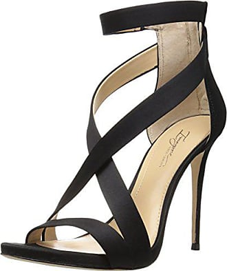 Imagine Vince Camuto Womens Devin Dress Sandal, Black, 9 M US