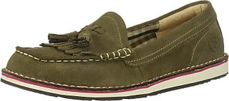 Ariat Womens Tassel Cruiser Slip On Shoes Size: 6.5 UK Olive Green