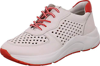 Caprice 23500-24 Womens Lace-Up Shoes, Womens Sporty Laces, Loose Insole White Size: 5 UK