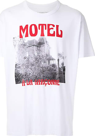 À La Garçonne T-shirt Psycho À La Garçonne + Hering - Branco