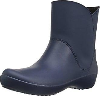 fd0bf25c144 Crocs rubberlaarzen voor dames - blauw (navy), maat: 37-38