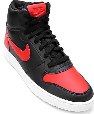 9f3f5d4ac96 Nike Tênis Couro Cano Alto Nike Ebernon Mid Masculino - Masculino
