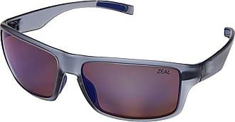 Zeal Optics Incline (Matte Smoke w/ Polarized Horizon Blue Lens) Athletic Performance Sport Sunglasses