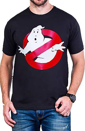 Bandalheira Camiseta Caça-Fantasmas Logo Preta