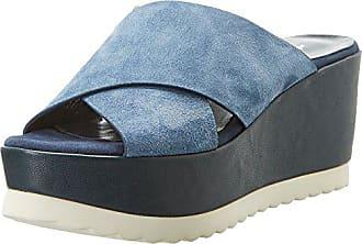 FemmeBleuCamoscio KimSandales Plateforme Jeans36 Mercadal Blue EU FJTK1cl