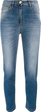 Elisabetta Franchi Calça jeans skinny cropped - Azul
