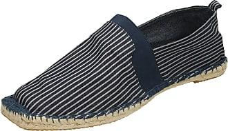 Spot On Mens Espadrilles - Navy Textile - UK Size 10 - EU Size 44 - US Size 11