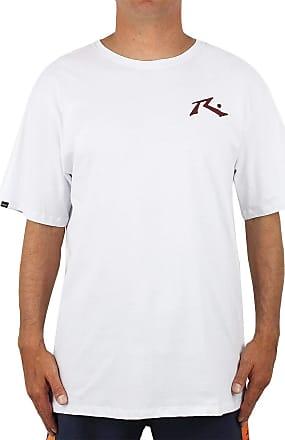 Rusty Camiseta Extra Grande Rusty Competition Branca