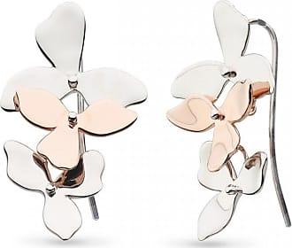 Acotis Limited Kit Heath Blossom Petal Bloom Trio Plate Drop Earrings 60271RG028