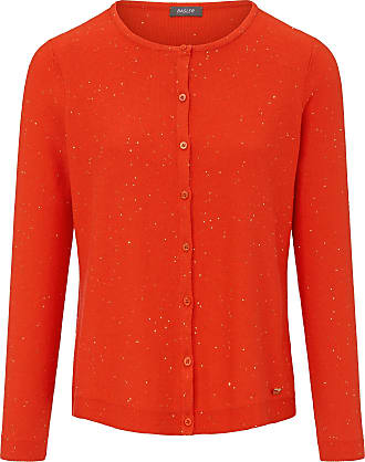 Basler Straight cut cardigan long sleeves Basler red