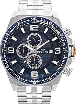 Technos Relógio Masculino Technos Skymast JS15FD/1A - Prata