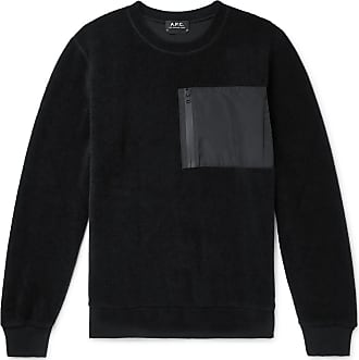 A.P.C. Club Fleece Sweatshirt - Black