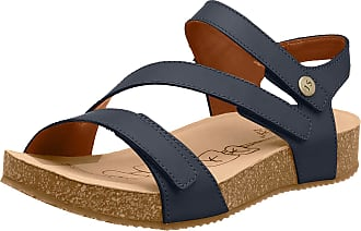 Josef Seibel Tonga 25 Womens Leather Sandals 6.5/40 Jeans