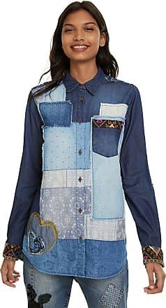 Desigual Camisa Desigual Azul