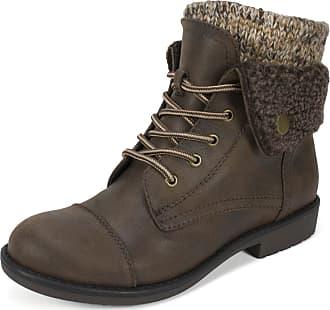 White Mountain Womens Duena Hiking Boot, Brownmulti Fabric, 6.5 UK