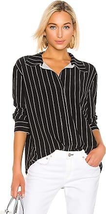 Norma Kamali Boyfriend NK Shirt in Black