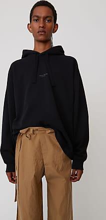 Acne Studios FN-MN-SWEA000036 Black Hooded sweatshirt