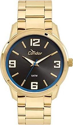 Condor Relógio Condor Masculino Ref: Co2035kwt/4p Casual Dourado