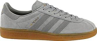best loved 49a31 5c7a2 adidas Originals Herren München Grau Wildleder Sneaker 37 13