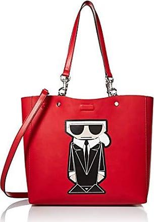 Karl Lagerfeld Adele Tote, Crimson Kl Image