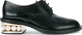 Nicholas Kirkwood CASATI derby shoes 35mm - Black