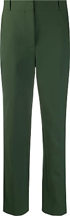 Diane Von Fürstenberg Calça chino slim - Verde