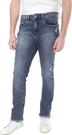 Calvin Klein Jeans Calça Jeans Calvin Klein Jeans Slim Five Pockets Athetic Taper Azul