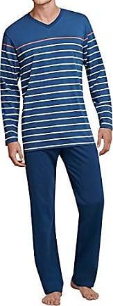 8455ce19f8 Seidensticker Herren Langer Schlafanzug Pyjama Lang - 165988, Größe  Herren:102, Farbe: