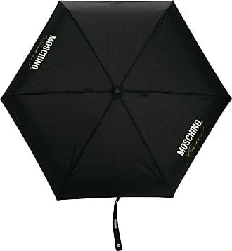 Moschino Ombrello Couture! con stampa - Di colore nero