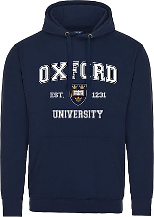 Oxford University Harvard Style Hoodie - Navy - 2XL