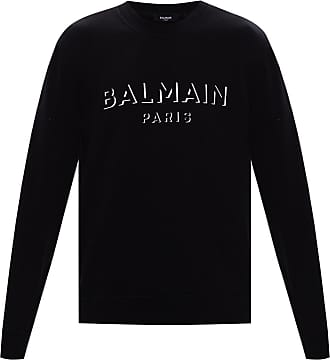 Balmain Logo-printed Sweatshirt Mens Black